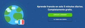 curso de francés duolingo gratis